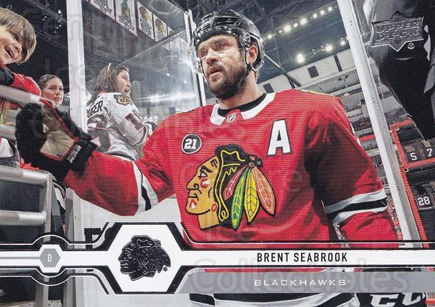 2019-20 Upper Deck #113 Brent Seabrook<br/>15 In Stock - $1.00 each - <a href=https://centericecollectibles.foxycart.com/cart?name=2019-20%20Upper%20Deck%20%23113%20Brent%20Seabrook...&quantity_max=15&price=$1.00&code=767022 class=foxycart> Buy it now! </a>