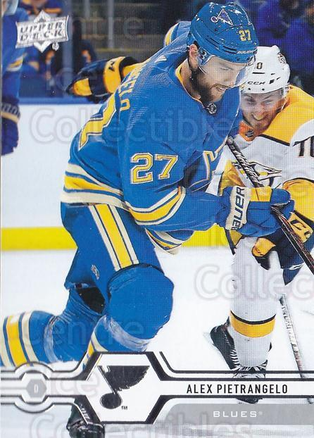 2019-20 Upper Deck #122 Alex Pietrangelo<br/>15 In Stock - $1.00 each - <a href=https://centericecollectibles.foxycart.com/cart?name=2019-20%20Upper%20Deck%20%23122%20Alex%20Pietrangel...&quantity_max=15&price=$1.00&code=767031 class=foxycart> Buy it now! </a>