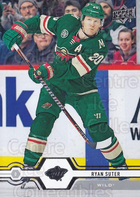 2019-20 Upper Deck #129 Ryan Suter<br/>15 In Stock - $1.00 each - <a href=https://centericecollectibles.foxycart.com/cart?name=2019-20%20Upper%20Deck%20%23129%20Ryan%20Suter...&quantity_max=15&price=$1.00&code=767038 class=foxycart> Buy it now! </a>