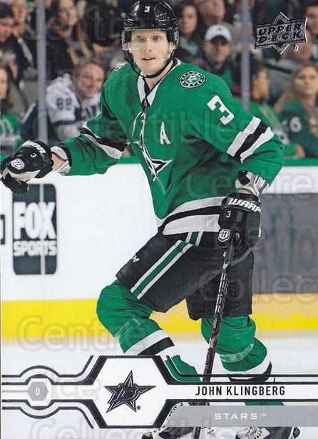 2019-20 Upper Deck #147 John Klingberg<br/>15 In Stock - $1.00 each - <a href=https://centericecollectibles.foxycart.com/cart?name=2019-20%20Upper%20Deck%20%23147%20John%20Klingberg...&quantity_max=15&price=$1.00&code=767056 class=foxycart> Buy it now! </a>