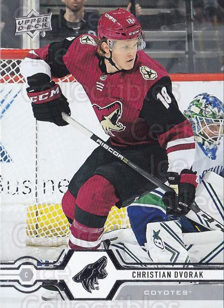 2019-20 Upper Deck #156 Christian Dvorak<br/>15 In Stock - $1.00 each - <a href=https://centericecollectibles.foxycart.com/cart?name=2019-20%20Upper%20Deck%20%23156%20Christian%20Dvora...&quantity_max=15&price=$1.00&code=767065 class=foxycart> Buy it now! </a>