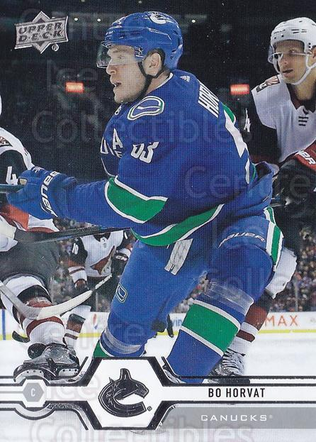 2019-20 Upper Deck #169 Bo Horvat<br/>15 In Stock - $1.00 each - <a href=https://centericecollectibles.foxycart.com/cart?name=2019-20%20Upper%20Deck%20%23169%20Bo%20Horvat...&quantity_max=15&price=$1.00&code=767078 class=foxycart> Buy it now! </a>