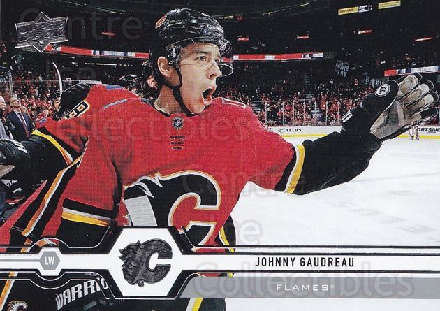 2019-20 Upper Deck #180 Johnny Gaudreau<br/>15 In Stock - $1.00 each - <a href=https://centericecollectibles.foxycart.com/cart?name=2019-20%20Upper%20Deck%20%23180%20Johnny%20Gaudreau...&quantity_max=15&price=$1.00&code=767089 class=foxycart> Buy it now! </a>
