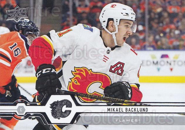 2019-20 Upper Deck #182 Mikael Backlund<br/>15 In Stock - $1.00 each - <a href=https://centericecollectibles.foxycart.com/cart?name=2019-20%20Upper%20Deck%20%23182%20Mikael%20Backlund...&quantity_max=15&price=$1.00&code=767091 class=foxycart> Buy it now! </a>