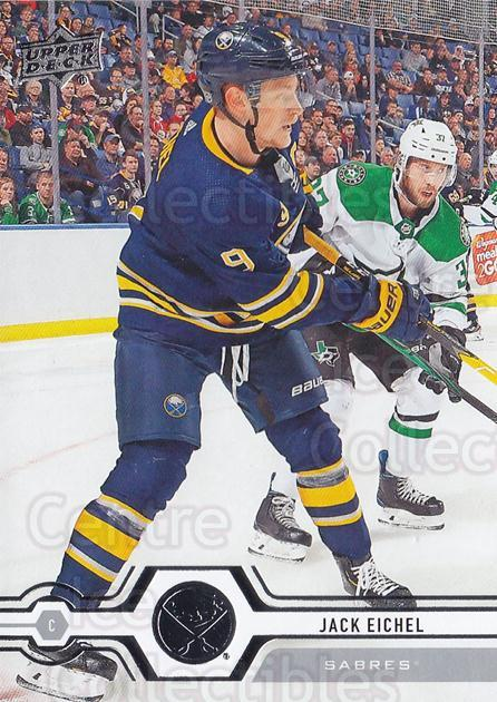 2019-20 Upper Deck #264 Jack Eichel<br/>15 In Stock - $1.00 each - <a href=https://centericecollectibles.foxycart.com/cart?name=2019-20%20Upper%20Deck%20%23264%20Jack%20Eichel...&quantity_max=15&price=$1.00&code=767173 class=foxycart> Buy it now! </a>