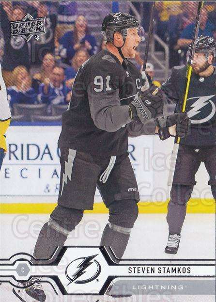2019-20 Upper Deck #270 Steven Stamkos<br/>15 In Stock - $2.00 each - <a href=https://centericecollectibles.foxycart.com/cart?name=2019-20%20Upper%20Deck%20%23270%20Steven%20Stamkos...&quantity_max=15&price=$2.00&code=767179 class=foxycart> Buy it now! </a>