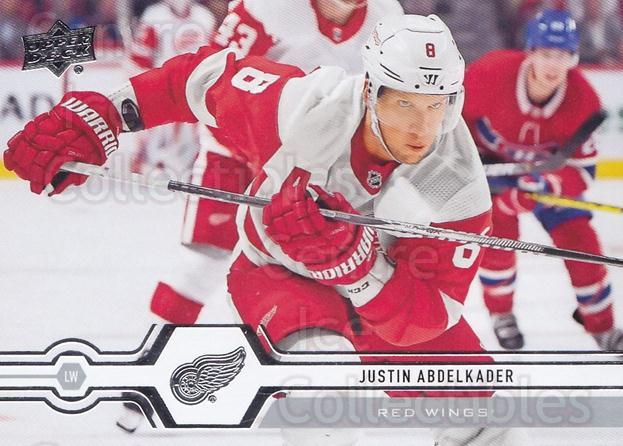 2019-20 Upper Deck #277 Justin Abdelkader<br/>15 In Stock - $1.00 each - <a href=https://centericecollectibles.foxycart.com/cart?name=2019-20%20Upper%20Deck%20%23277%20Justin%20Abdelkad...&quantity_max=15&price=$1.00&code=767186 class=foxycart> Buy it now! </a>