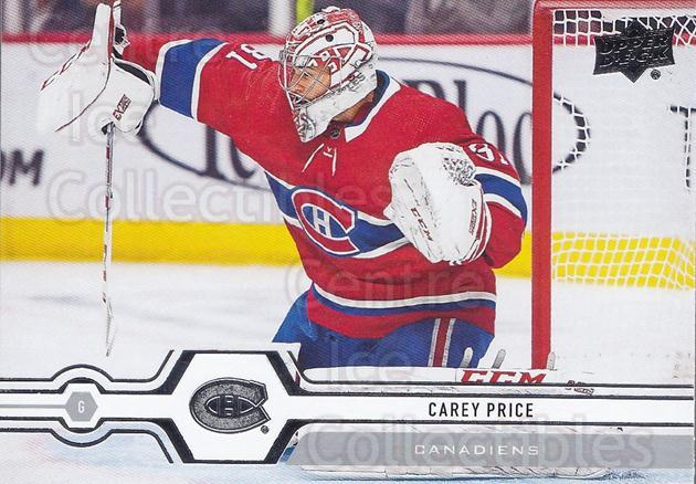 2019-20 Upper Deck #298 Carey Price<br/>14 In Stock - $3.00 each - <a href=https://centericecollectibles.foxycart.com/cart?name=2019-20%20Upper%20Deck%20%23298%20Carey%20Price...&quantity_max=14&price=$3.00&code=767207 class=foxycart> Buy it now! </a>