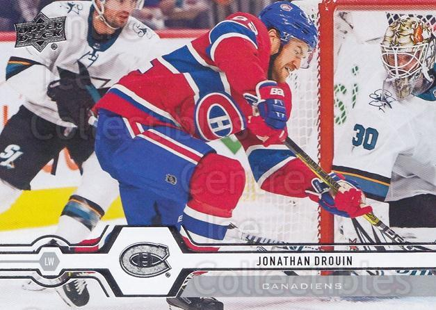 2019-20 Upper Deck #299 Jonathan Drouin<br/>15 In Stock - $1.00 each - <a href=https://centericecollectibles.foxycart.com/cart?name=2019-20%20Upper%20Deck%20%23299%20Jonathan%20Drouin...&quantity_max=15&price=$1.00&code=767208 class=foxycart> Buy it now! </a>
