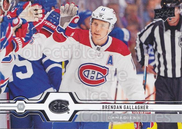 2019-20 Upper Deck #300 Brendan Gallagher<br/>15 In Stock - $1.00 each - <a href=https://centericecollectibles.foxycart.com/cart?name=2019-20%20Upper%20Deck%20%23300%20Brendan%20Gallagh...&quantity_max=15&price=$1.00&code=767209 class=foxycart> Buy it now! </a>