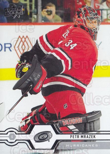 2019-20 Upper Deck #307 Petr Mrazek<br/>14 In Stock - $1.00 each - <a href=https://centericecollectibles.foxycart.com/cart?name=2019-20%20Upper%20Deck%20%23307%20Petr%20Mrazek...&quantity_max=14&price=$1.00&code=767216 class=foxycart> Buy it now! </a>