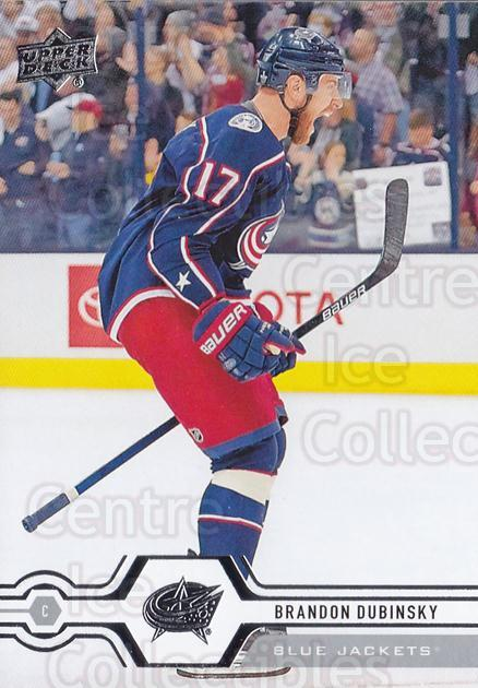 2019-20 Upper Deck #318 Brandon Dubinsky<br/>15 In Stock - $1.00 each - <a href=https://centericecollectibles.foxycart.com/cart?name=2019-20%20Upper%20Deck%20%23318%20Brandon%20Dubinsk...&quantity_max=15&price=$1.00&code=767227 class=foxycart> Buy it now! </a>