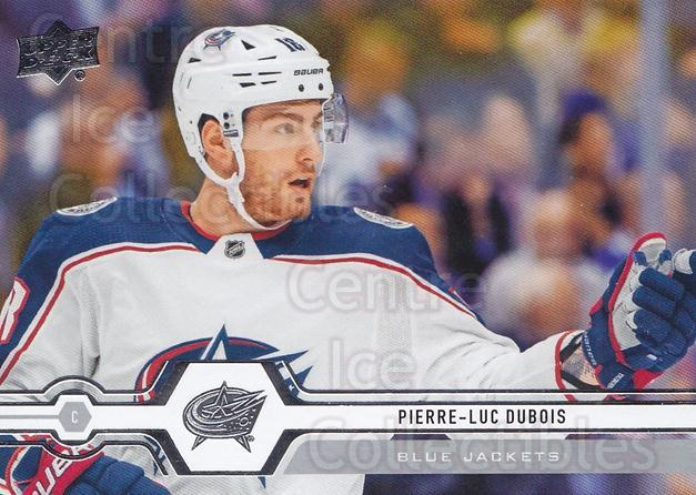 2019-20 Upper Deck #321 Pierre-Luc Dubois<br/>15 In Stock - $1.00 each - <a href=https://centericecollectibles.foxycart.com/cart?name=2019-20%20Upper%20Deck%20%23321%20Pierre-Luc%20Dubo...&quantity_max=15&price=$1.00&code=767230 class=foxycart> Buy it now! </a>