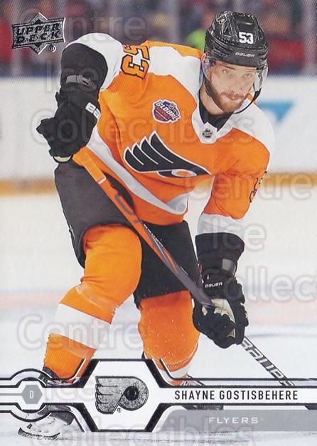 2019-20 Upper Deck #326 Shayne Gostisbehere<br/>15 In Stock - $1.00 each - <a href=https://centericecollectibles.foxycart.com/cart?name=2019-20%20Upper%20Deck%20%23326%20Shayne%20Gostisbe...&quantity_max=15&price=$1.00&code=767235 class=foxycart> Buy it now! </a>