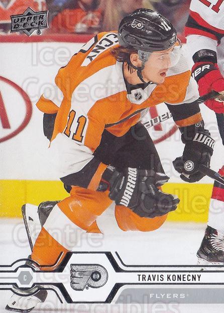 2019-20 Upper Deck #327 Travis Konecny<br/>15 In Stock - $1.00 each - <a href=https://centericecollectibles.foxycart.com/cart?name=2019-20%20Upper%20Deck%20%23327%20Travis%20Konecny...&quantity_max=15&price=$1.00&code=767236 class=foxycart> Buy it now! </a>