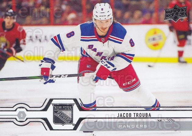 2019-20 Upper Deck #343 Jacob Trouba<br/>15 In Stock - $1.00 each - <a href=https://centericecollectibles.foxycart.com/cart?name=2019-20%20Upper%20Deck%20%23343%20Jacob%20Trouba...&quantity_max=15&price=$1.00&code=767252 class=foxycart> Buy it now! </a>