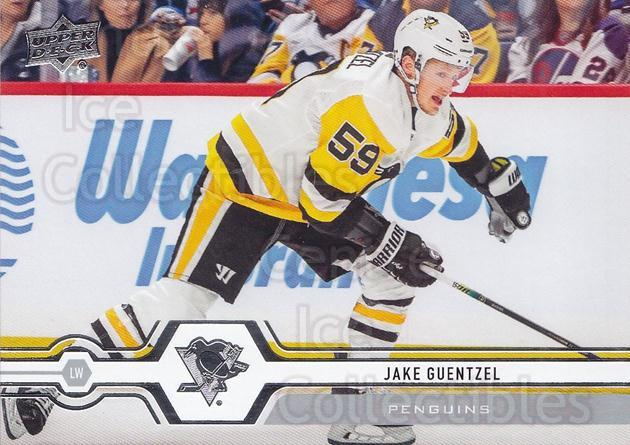 2019-20 Upper Deck #351 Jake Guentzel<br/>15 In Stock - $1.00 each - <a href=https://centericecollectibles.foxycart.com/cart?name=2019-20%20Upper%20Deck%20%23351%20Jake%20Guentzel...&quantity_max=15&price=$1.00&code=767260 class=foxycart> Buy it now! </a>