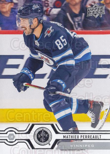 2019-20 Upper Deck #357 Mathieu Perreault<br/>15 In Stock - $1.00 each - <a href=https://centericecollectibles.foxycart.com/cart?name=2019-20%20Upper%20Deck%20%23357%20Mathieu%20Perreau...&quantity_max=15&price=$1.00&code=767266 class=foxycart> Buy it now! </a>