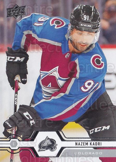 2019-20 Upper Deck #381 Nazem Kadri<br/>15 In Stock - $1.00 each - <a href=https://centericecollectibles.foxycart.com/cart?name=2019-20%20Upper%20Deck%20%23381%20Nazem%20Kadri...&quantity_max=15&price=$1.00&code=767290 class=foxycart> Buy it now! </a>