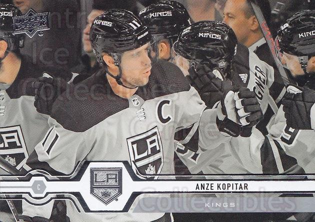 2019-20 Upper Deck #399 Anze Kopitar<br/>15 In Stock - $1.00 each - <a href=https://centericecollectibles.foxycart.com/cart?name=2019-20%20Upper%20Deck%20%23399%20Anze%20Kopitar...&quantity_max=15&price=$1.00&code=767308 class=foxycart> Buy it now! </a>