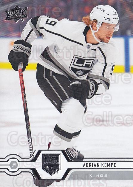 2019-20 Upper Deck #404 Adrian Kempe<br/>15 In Stock - $1.00 each - <a href=https://centericecollectibles.foxycart.com/cart?name=2019-20%20Upper%20Deck%20%23404%20Adrian%20Kempe...&quantity_max=15&price=$1.00&code=767313 class=foxycart> Buy it now! </a>