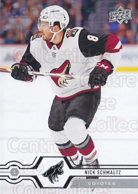2019-20 Upper Deck #408 Nick Schmaltz<br/>15 In Stock - $1.00 each - <a href=https://centericecollectibles.foxycart.com/cart?name=2019-20%20Upper%20Deck%20%23408%20Nick%20Schmaltz...&quantity_max=15&price=$1.00&code=767317 class=foxycart> Buy it now! </a>