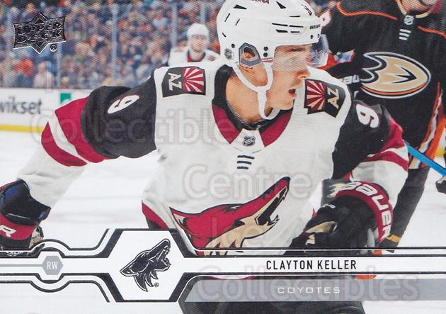 2019-20 Upper Deck #409 Clayton Keller<br/>15 In Stock - $1.00 each - <a href=https://centericecollectibles.foxycart.com/cart?name=2019-20%20Upper%20Deck%20%23409%20Clayton%20Keller...&quantity_max=15&price=$1.00&code=767318 class=foxycart> Buy it now! </a>