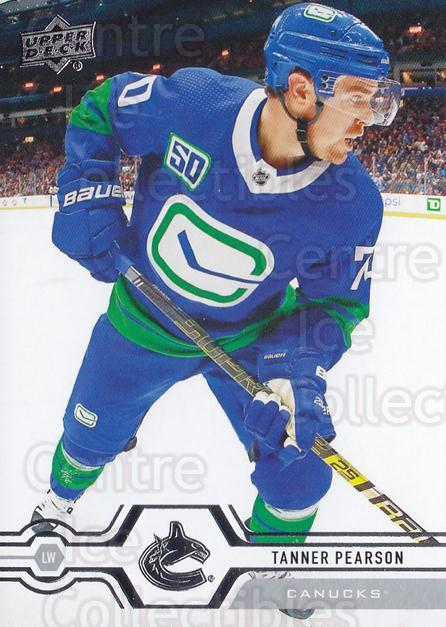 2019-20 Upper Deck #423 Tanner Pearson<br/>15 In Stock - $1.00 each - <a href=https://centericecollectibles.foxycart.com/cart?name=2019-20%20Upper%20Deck%20%23423%20Tanner%20Pearson...&quantity_max=15&price=$1.00&code=767332 class=foxycart> Buy it now! </a>