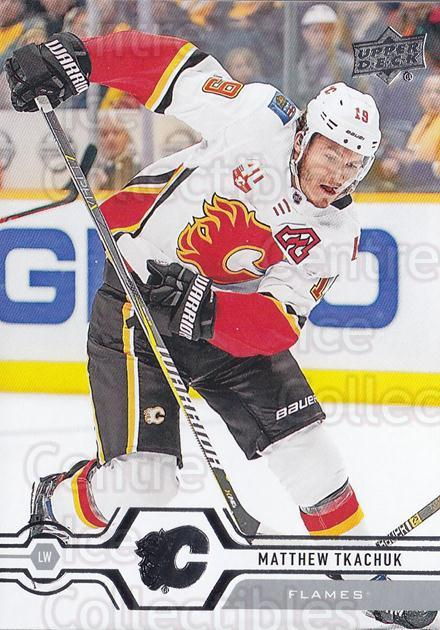 2019-20 Upper Deck #430 Matthew Tkachuk<br/>15 In Stock - $1.00 each - <a href=https://centericecollectibles.foxycart.com/cart?name=2019-20%20Upper%20Deck%20%23430%20Matthew%20Tkachuk...&quantity_max=15&price=$1.00&code=767339 class=foxycart> Buy it now! </a>