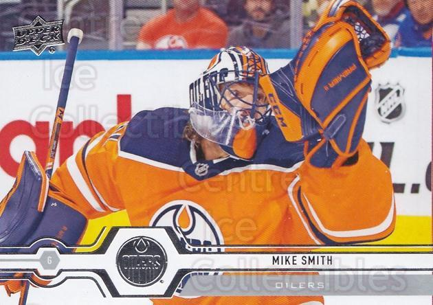 2019-20 Upper Deck #437 Mike Smith<br/>15 In Stock - $1.00 each - <a href=https://centericecollectibles.foxycart.com/cart?name=2019-20%20Upper%20Deck%20%23437%20Mike%20Smith...&quantity_max=15&price=$1.00&code=767346 class=foxycart> Buy it now! </a>