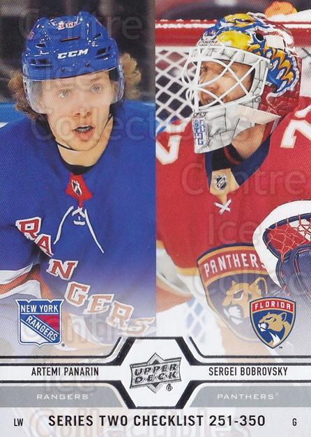 2019-20 Upper Deck #449 Artemi Panarin, Sergei Bobrovsky, Checklist<br/>14 In Stock - $1.00 each - <a href=https://centericecollectibles.foxycart.com/cart?name=2019-20%20Upper%20Deck%20%23449%20Artemi%20Panarin,...&quantity_max=14&price=$1.00&code=767358 class=foxycart> Buy it now! </a>