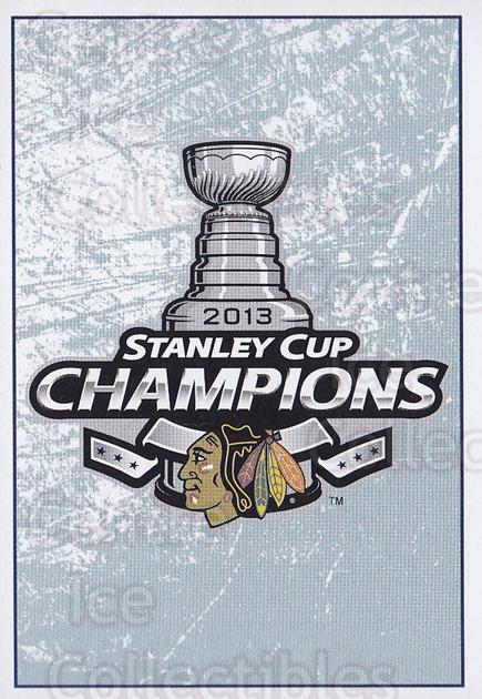 2013-14 Panini Stickers #3 Stanley Cup<br/>2 In Stock - $1.00 each - <a href=https://centericecollectibles.foxycart.com/cart?name=2013-14%20Panini%20Stickers%20%233%20Stanley%20Cup...&quantity_max=2&price=$1.00&code=767454 class=foxycart> Buy it now! </a>