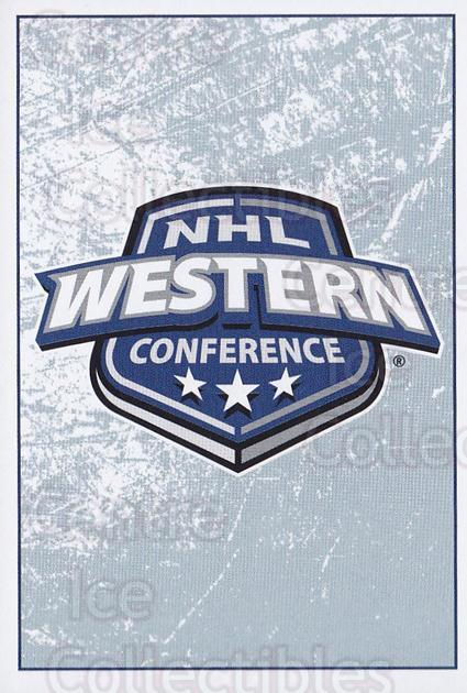 2013-14 Panini Stickers #6 Western Conference Logo<br/>2 In Stock - $1.00 each - <a href=https://centericecollectibles.foxycart.com/cart?name=2013-14%20Panini%20Stickers%20%236%20Western%20Confere...&quantity_max=2&price=$1.00&code=767457 class=foxycart> Buy it now! </a>