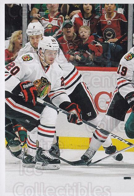2013-14 Panini Stickers #15 Jonathan Toews, Corey Crawford<br/>1 In Stock - $2.00 each - <a href=https://centericecollectibles.foxycart.com/cart?name=2013-14%20Panini%20Stickers%20%2315%20Jonathan%20Toews,...&quantity_max=1&price=$2.00&code=767466 class=foxycart> Buy it now! </a>