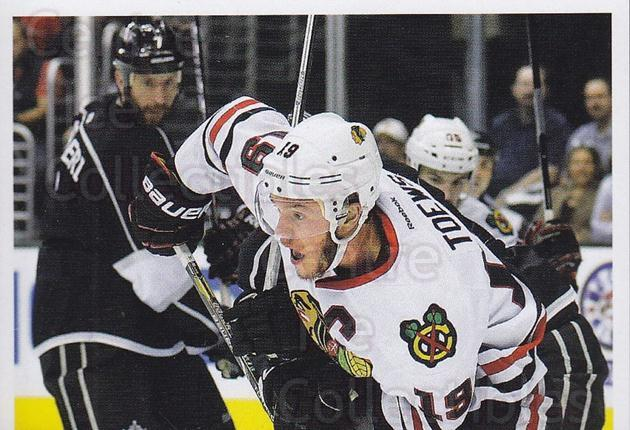 2013-14 Panini Stickers #19 Jonathan Toews<br/>1 In Stock - $2.00 each - <a href=https://centericecollectibles.foxycart.com/cart?name=2013-14%20Panini%20Stickers%20%2319%20Jonathan%20Toews...&quantity_max=1&price=$2.00&code=767470 class=foxycart> Buy it now! </a>