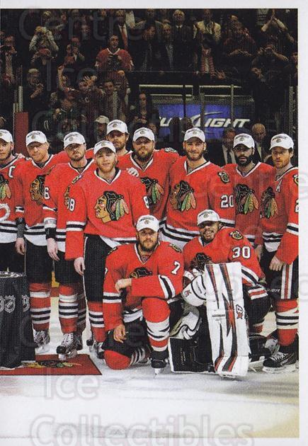 2013-14 Panini Stickers #21 Chicago Blackhawks<br/>2 In Stock - $1.00 each - <a href=https://centericecollectibles.foxycart.com/cart?name=2013-14%20Panini%20Stickers%20%2321%20Chicago%20Blackha...&quantity_max=2&price=$1.00&code=767472 class=foxycart> Buy it now! </a>