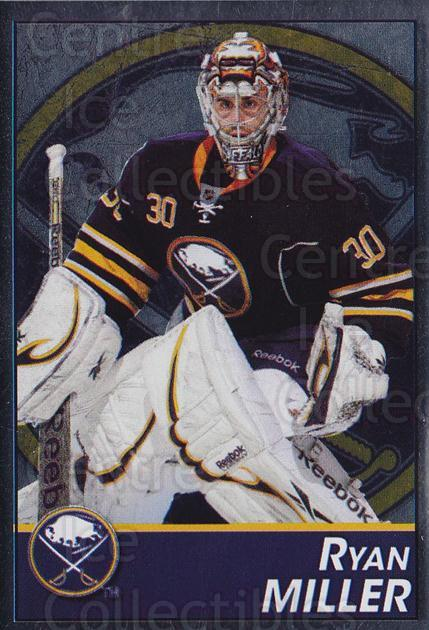 2013-14 Panini Stickers #38 Ryan Miller<br/>2 In Stock - $1.00 each - <a href=https://centericecollectibles.foxycart.com/cart?name=2013-14%20Panini%20Stickers%20%2338%20Ryan%20Miller...&quantity_max=2&price=$1.00&code=767489 class=foxycart> Buy it now! </a>
