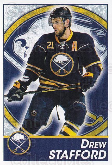 2013-14 Panini Stickers #43 Drew Stafford<br/>2 In Stock - $1.00 each - <a href=https://centericecollectibles.foxycart.com/cart?name=2013-14%20Panini%20Stickers%20%2343%20Drew%20Stafford...&quantity_max=2&price=$1.00&code=767494 class=foxycart> Buy it now! </a>
