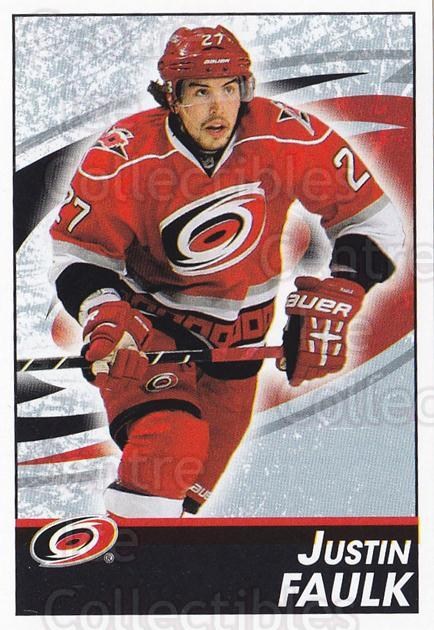 2013-14 Panini Stickers #48 Justin Faulk<br/>2 In Stock - $1.00 each - <a href=https://centericecollectibles.foxycart.com/cart?name=2013-14%20Panini%20Stickers%20%2348%20Justin%20Faulk...&quantity_max=2&price=$1.00&code=767499 class=foxycart> Buy it now! </a>