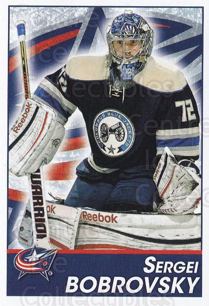 2013-14 Panini Stickers #56 Sergei Bobrovsky<br/>2 In Stock - $1.00 each - <a href=https://centericecollectibles.foxycart.com/cart?name=2013-14%20Panini%20Stickers%20%2356%20Sergei%20Bobrovsk...&quantity_max=2&price=$1.00&code=767507 class=foxycart> Buy it now! </a>