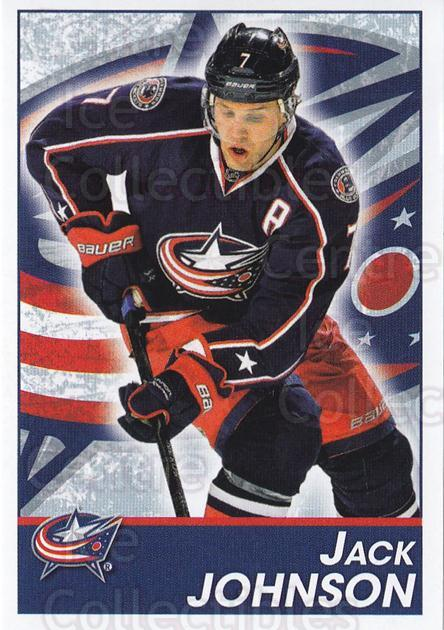 2013-14 Panini Stickers #57 Jack Johnson<br/>2 In Stock - $1.00 each - <a href=https://centericecollectibles.foxycart.com/cart?name=2013-14%20Panini%20Stickers%20%2357%20Jack%20Johnson...&quantity_max=2&price=$1.00&code=767508 class=foxycart> Buy it now! </a>