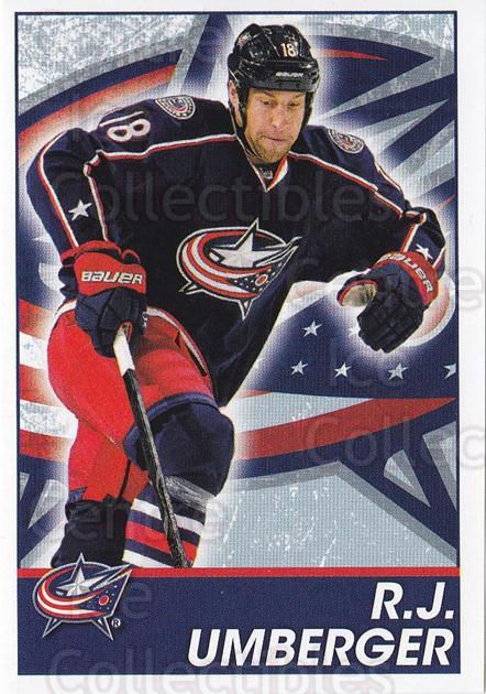 2013-14 Panini Stickers #59 RJ Umberger<br/>2 In Stock - $1.00 each - <a href=https://centericecollectibles.foxycart.com/cart?name=2013-14%20Panini%20Stickers%20%2359%20RJ%20Umberger...&quantity_max=2&price=$1.00&code=767510 class=foxycart> Buy it now! </a>