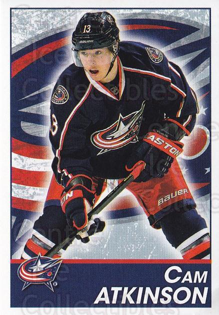 2013-14 Panini Stickers #61 Cam Atkinson<br/>2 In Stock - $1.00 each - <a href=https://centericecollectibles.foxycart.com/cart?name=2013-14%20Panini%20Stickers%20%2361%20Cam%20Atkinson...&quantity_max=2&price=$1.00&code=767512 class=foxycart> Buy it now! </a>