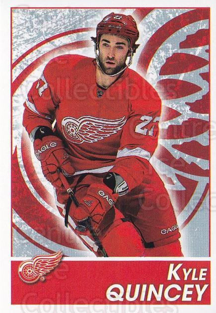 2013-14 Panini Stickers #67 Kyle Quincey<br/>2 In Stock - $1.00 each - <a href=https://centericecollectibles.foxycart.com/cart?name=2013-14%20Panini%20Stickers%20%2367%20Kyle%20Quincey...&quantity_max=2&price=$1.00&code=767518 class=foxycart> Buy it now! </a>
