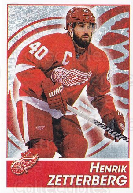 2013-14 Panini Stickers #68 Henrik Zetterberg<br/>1 In Stock - $2.00 each - <a href=https://centericecollectibles.foxycart.com/cart?name=2013-14%20Panini%20Stickers%20%2368%20Henrik%20Zetterbe...&quantity_max=1&price=$2.00&code=767519 class=foxycart> Buy it now! </a>