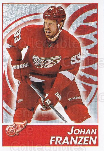 2013-14 Panini Stickers #71 Johan Franzen<br/>2 In Stock - $1.00 each - <a href=https://centericecollectibles.foxycart.com/cart?name=2013-14%20Panini%20Stickers%20%2371%20Johan%20Franzen...&quantity_max=2&price=$1.00&code=767522 class=foxycart> Buy it now! </a>
