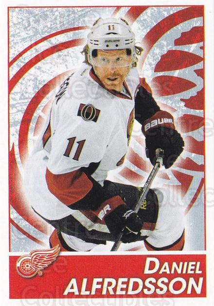 2013-14 Panini Stickers #72 Daniel Alfredsson<br/>2 In Stock - $1.00 each - <a href=https://centericecollectibles.foxycart.com/cart?name=2013-14%20Panini%20Stickers%20%2372%20Daniel%20Alfredss...&quantity_max=2&price=$1.00&code=767523 class=foxycart> Buy it now! </a>