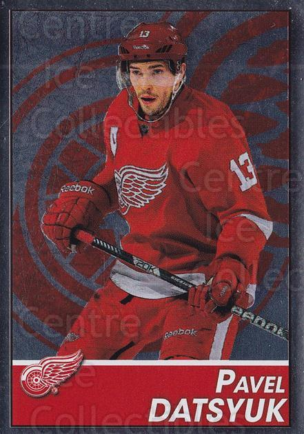 2013-14 Panini Stickers #73 Pavel Datsyuk<br/>2 In Stock - $2.00 each - <a href=https://centericecollectibles.foxycart.com/cart?name=2013-14%20Panini%20Stickers%20%2373%20Pavel%20Datsyuk...&quantity_max=2&price=$2.00&code=767524 class=foxycart> Buy it now! </a>