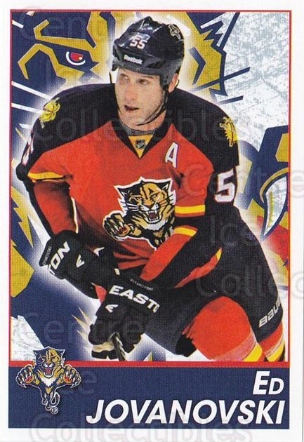 2013-14 Panini Stickers #76 Ed Jovanovski<br/>2 In Stock - $1.00 each - <a href=https://centericecollectibles.foxycart.com/cart?name=2013-14%20Panini%20Stickers%20%2376%20Ed%20Jovanovski...&quantity_max=2&price=$1.00&code=767527 class=foxycart> Buy it now! </a>