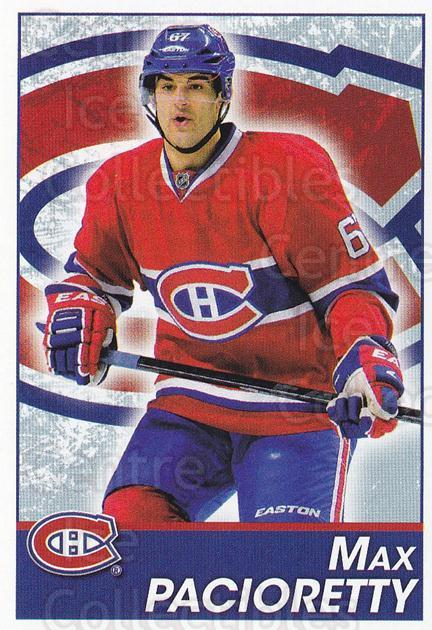 2013-14 Panini Stickers #86 Max Pacioretty<br/>2 In Stock - $1.00 each - <a href=https://centericecollectibles.foxycart.com/cart?name=2013-14%20Panini%20Stickers%20%2386%20Max%20Pacioretty...&quantity_max=2&price=$1.00&code=767537 class=foxycart> Buy it now! </a>
